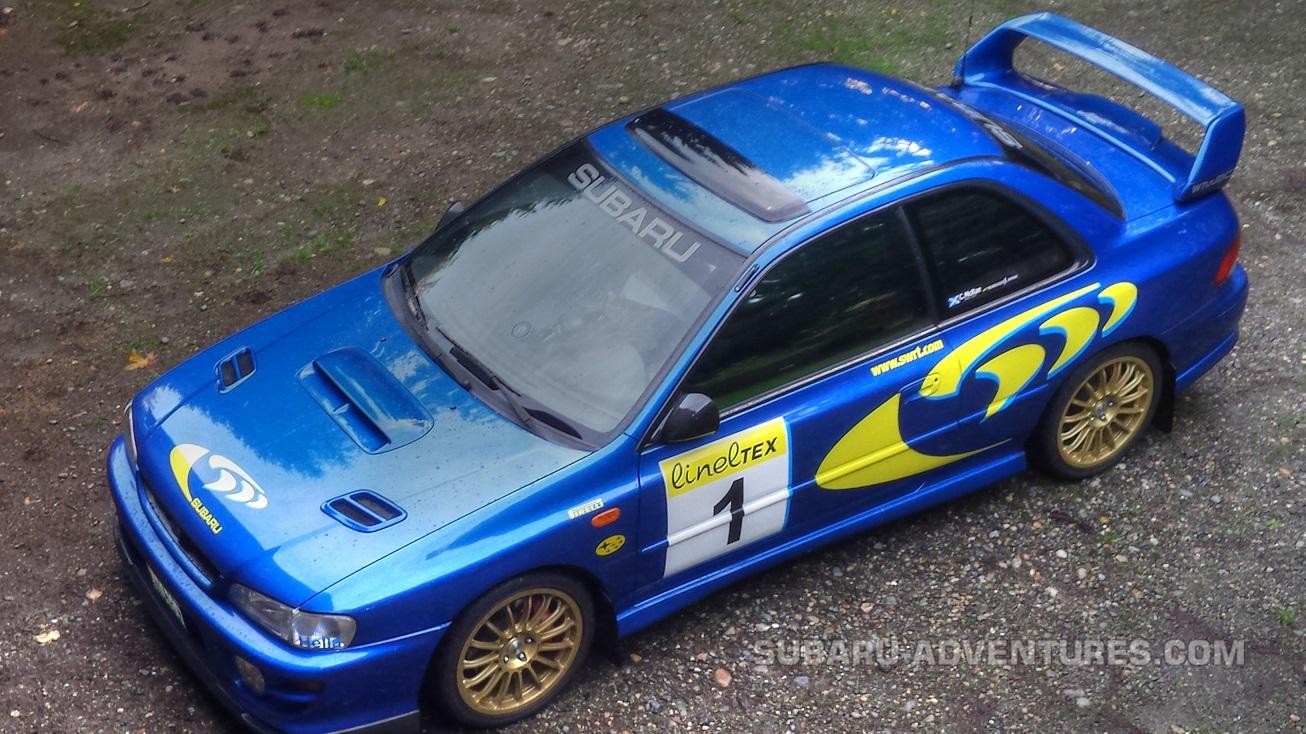 Mod List 99′ Subaru Impreza 2 5RS |