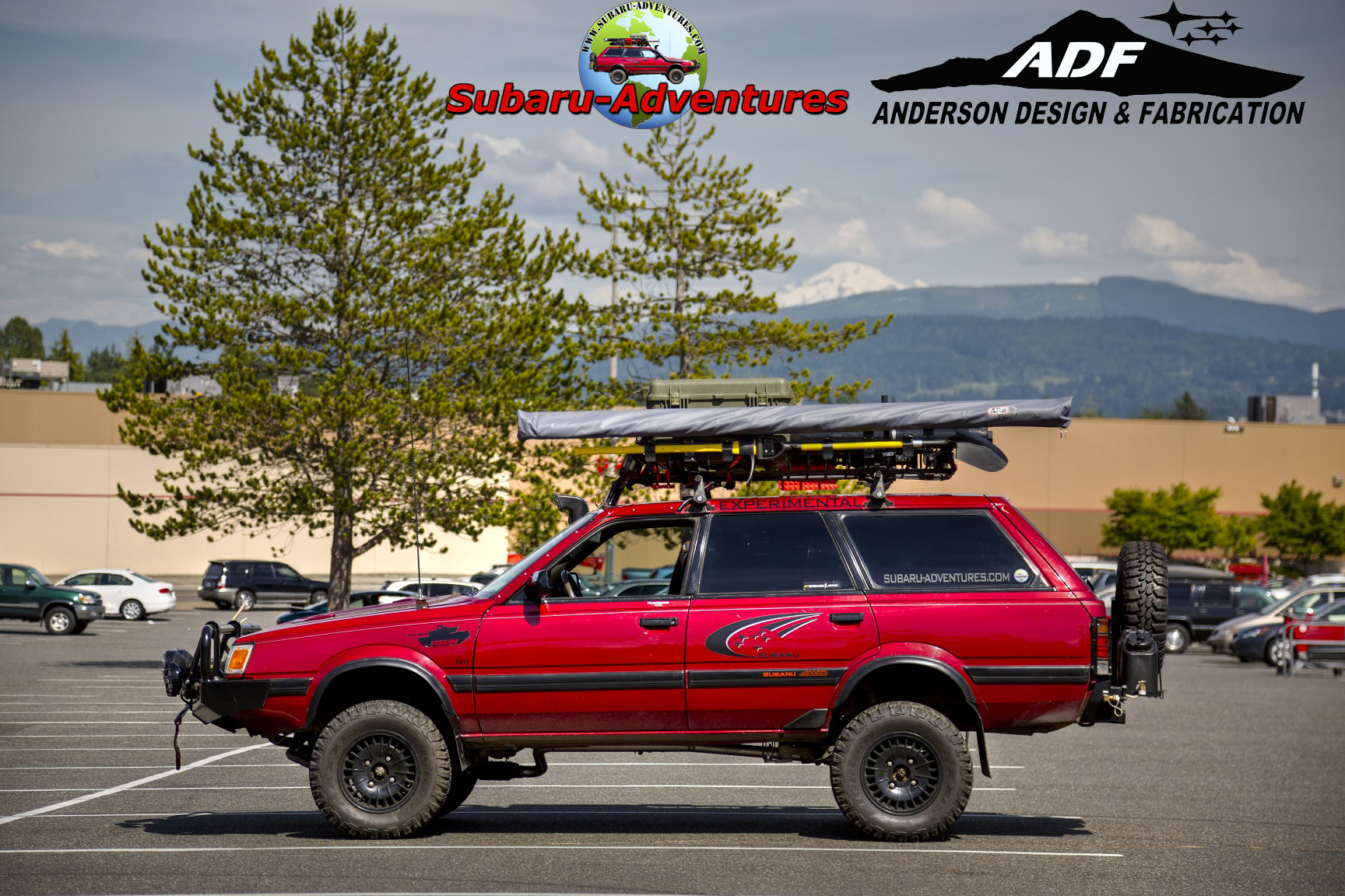 Subaru Outback Lift Kit >> 6″ Lift EA82 Build Instructions by Anderson Design ...