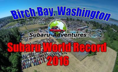 Birch Bay, Washington Subaru World Record Parade 2016