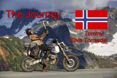 The Journey of a Motorcycle Traveler   Tommy Elvis Torresdal    8 Years Around the World   BMW HP2