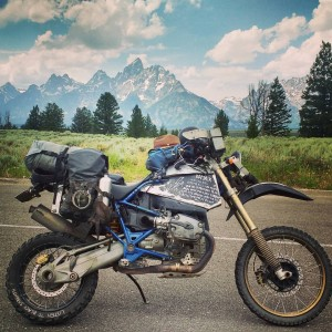 2017_08_24 - Bryan Dudas - The Journey of a Motorcycle Traveler_17 Titon National Park Wyoming